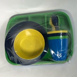 Mainstay Dining - Mainstay 24 piece plastic kids serving ware